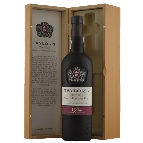 Taylors1964VeryOldSingleHarvestIORIGINALTRKASSE-36