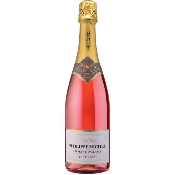 """Arthur Metz, """"Philippe Michel"""" Brut rosé, Cremant dAlsace AOC-31"""