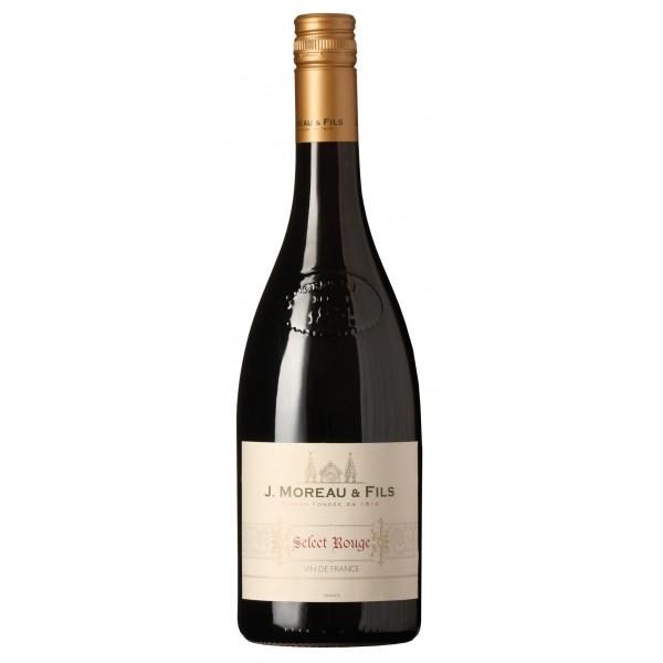 J. Moreau and Fils Rouge Vin de France-31