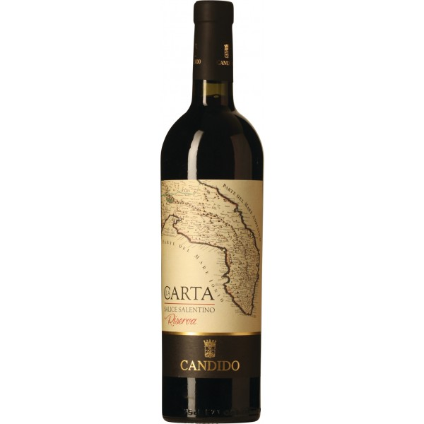 La Carta Riserva Vini Candido Salice Salentino DOC Puglia-33