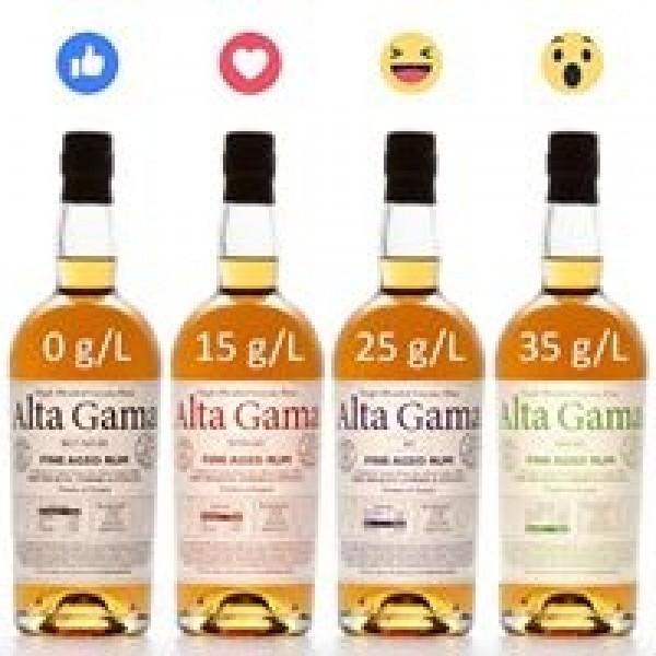Alta Gama Rum Brut Nature Guyana-31