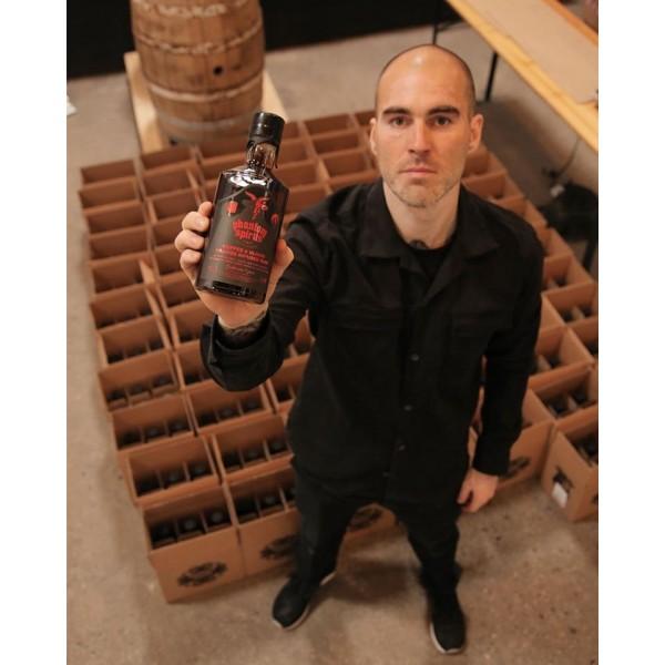 Phantom Spirits/Mikkeller Guyana 4 års Bourbon and Cider cask x italian plums-31