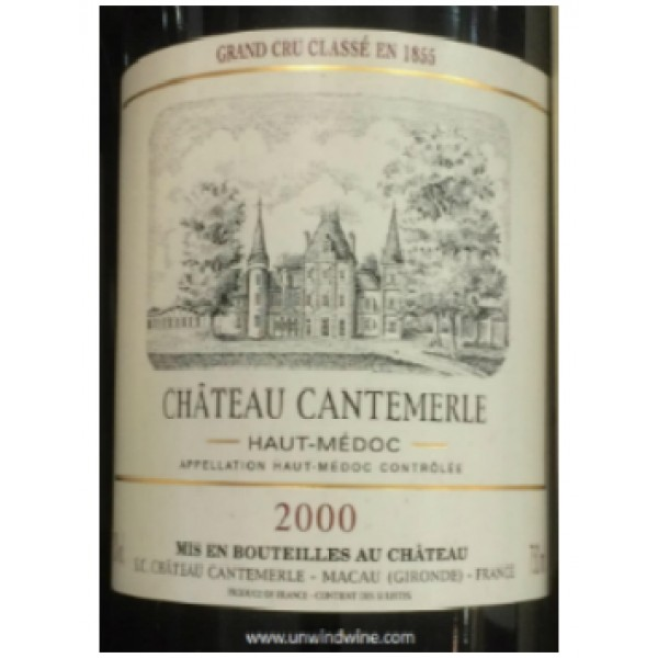 Ch. Cantemerle, Cinquième Cru Classé, Haut-Médoc, 2000-30