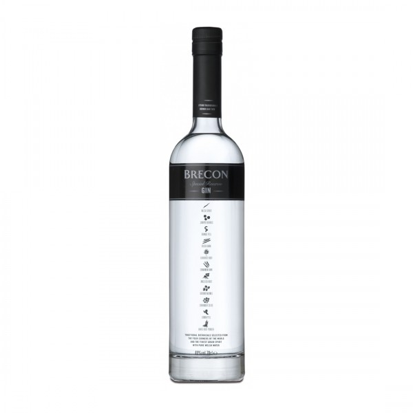 BRECON SPECIAL RESERVE GIN PENDERYN DIST. WALES-31