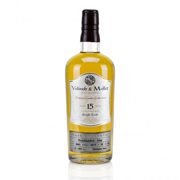 VALINCH and MALLET BRUICHLADDICH 15 YEARS-31