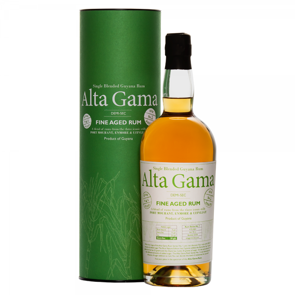 Alta Gama Rum Demi-Sec Guyana-31