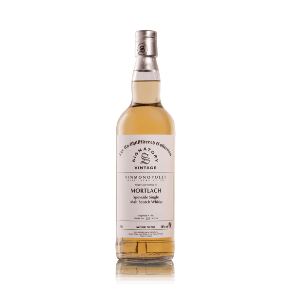 DISTILLERY NO. 20. MORTLACH. SIGNATORY 1997-31