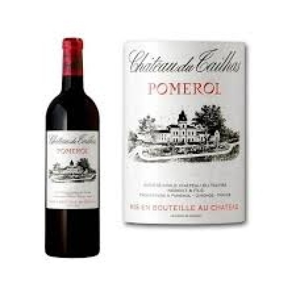 Ch. Du Tailhas Pomerol Bordeaux i 6 stk. original trækasse-31