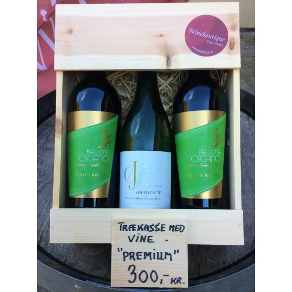 Trækasse m/ 3 fl. div. vine Premium Køb-31