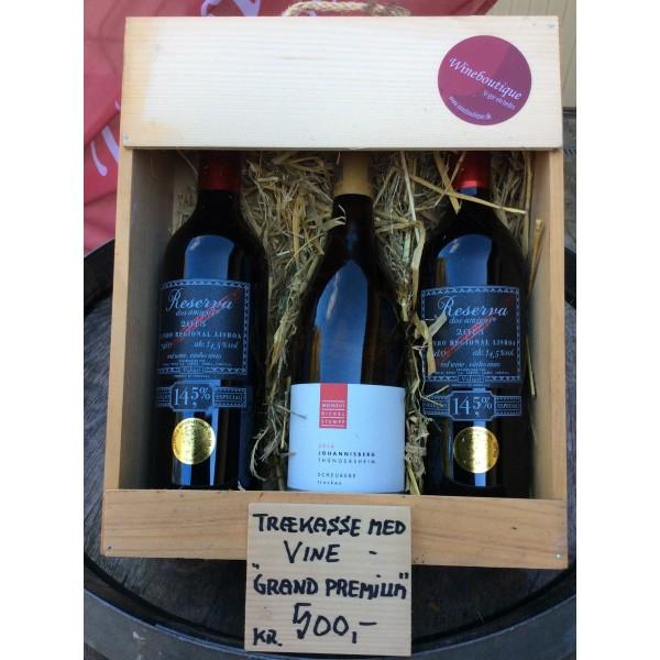 Trækasse m/ 3 fl. div. vin Grand Premium Køb-31