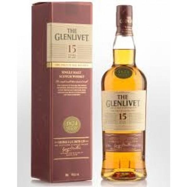 Glenlivet 15 years Speyside malt-31