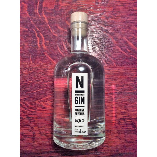 N Gin Navy Strength Nordisk Bryghus Allingåbro, Danmark-33