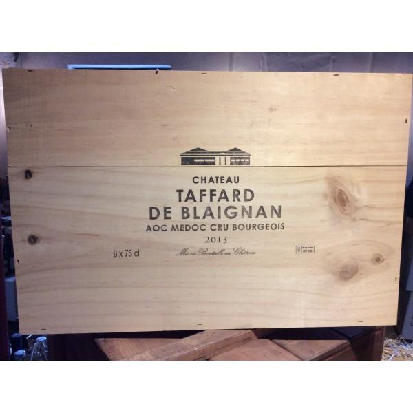 Ch. Taffard de Blaignan AOC Cru Bourgeois Medoc I 6 stk. Original trækasse-31