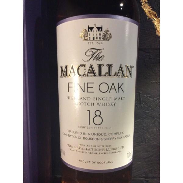 """The MacAllan """"Fine Oak"""" 18 års-35"""