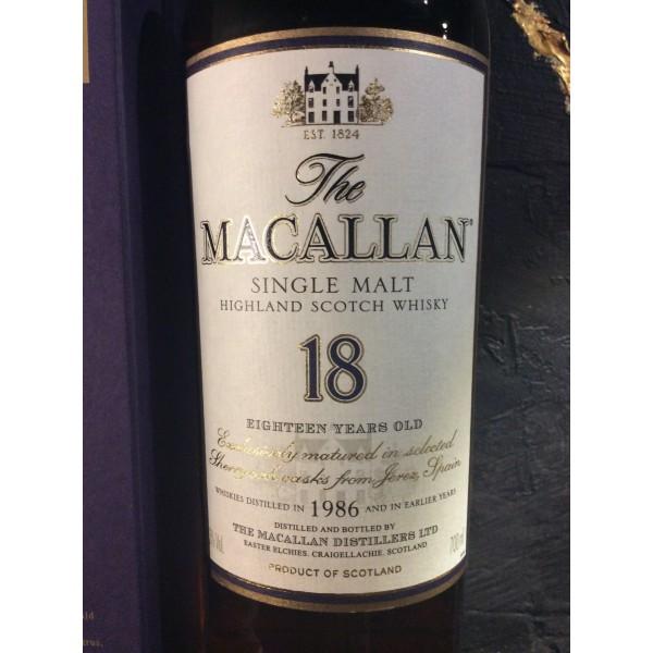 The MacAllan 18 års 1986 Sherry cask-35