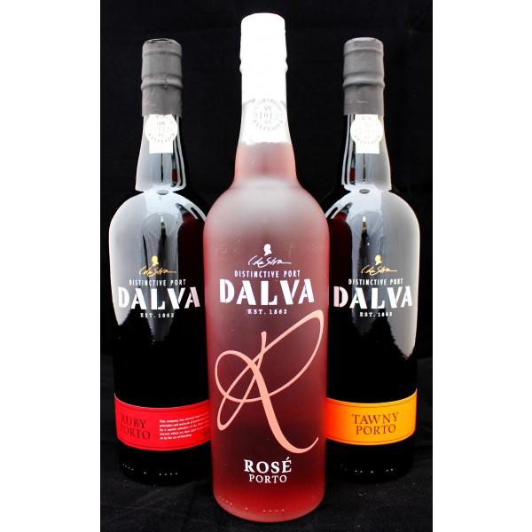 3 forskellige Portvine fra Dalva-31