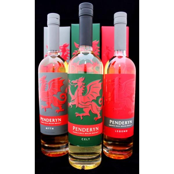 Whisky til far, fra det eneste whisky destilleri i Wales 3 forskellige slags.-31
