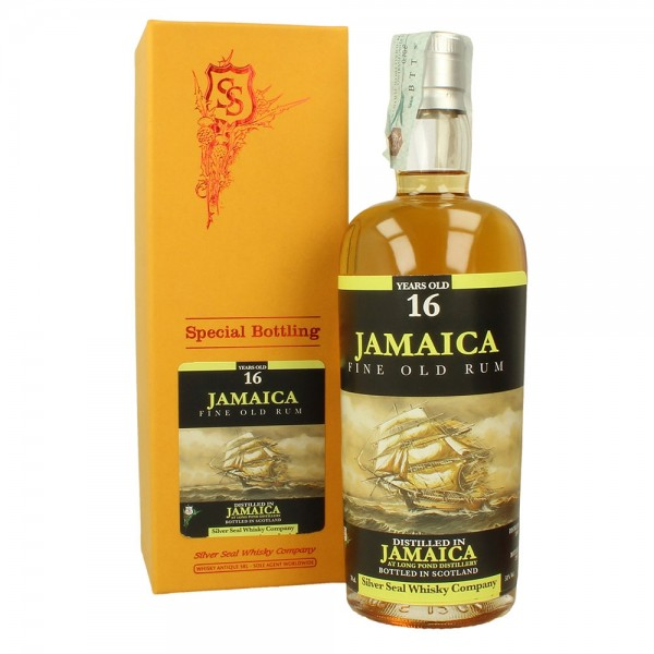 SILVER SEAL JAMAICA 2000 LONG POND DISTILLERY 16 YEARS OLD RUM-31