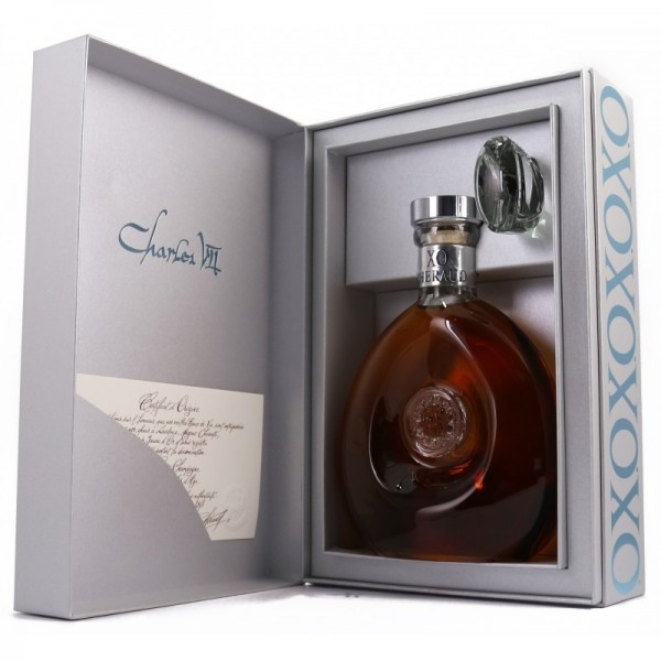 Lhéraud Cognac X.O. Carafe Charles VII-31