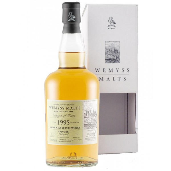 "Wemyss Malts Single cask release ""Triptych of Treats"" Linkwood 1995-31"