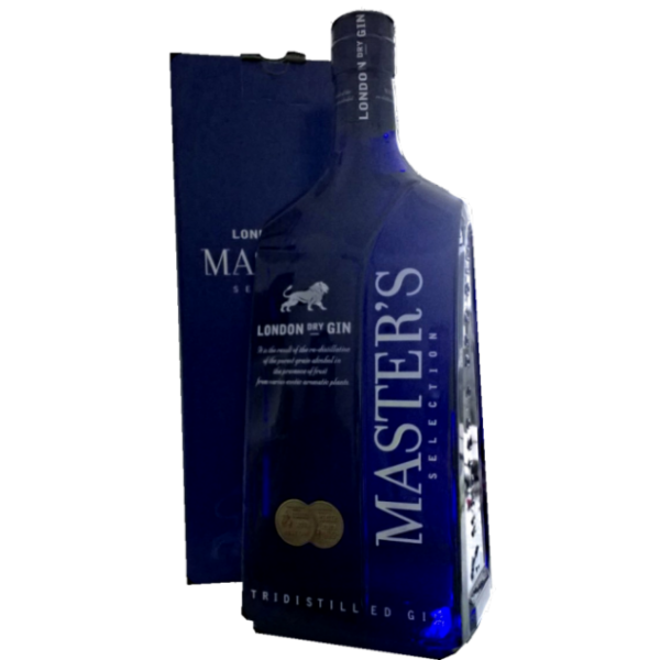 3 liters Masters London Dry Gin i Flot Gavekrt.-32