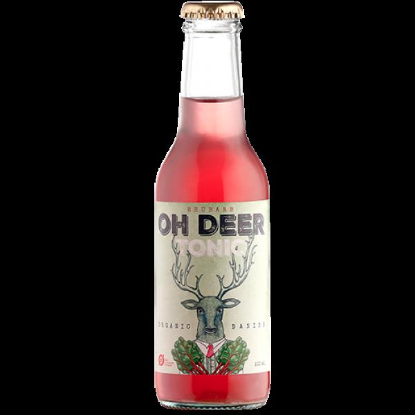 Oh Deer Tonic Rabarber Økologisk Danmark-31