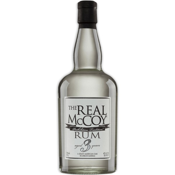 THE REAL MCCOY 3 YEAR OLD WHITE RUM-31