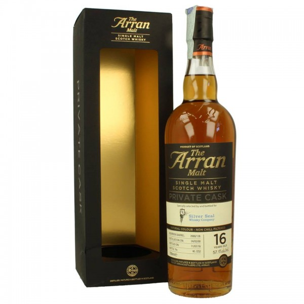 SILVER SEAL ARRAN PRIVATE CASK 2000 16 YEARS OLD WHISKY-31