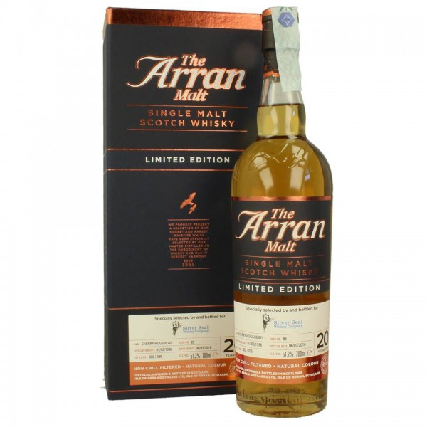 SILVER SEAL ARRAN LIMITED EDITION 1996 20 YEARS OLD WHISKY-31