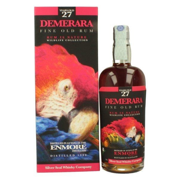 SILVER SEAL DEMERARA 1988 ENMORE DISTILLERY GUYANA 27 YEARS OLD RUM-31