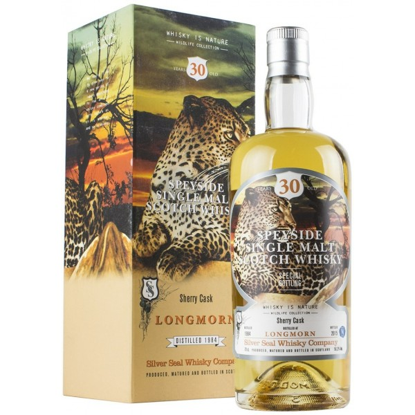 SILVER SEAL LONGMORN 30 YEARS OLD SHERRY CASK-31