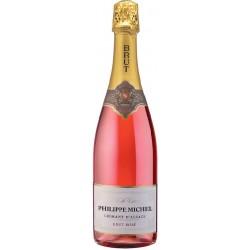"""Arthur Metz, """"Philippe Michel"""" Brut rosé, Cremant dAlsace AOC-20"""