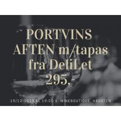 JULESMAGNING D. 19 DECEMBER MED ELEGANTE PORTVINE OG TAPAS FRA DELILET, LAURBJERG-20