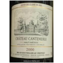 Ch. Cantemerle, Cinquième Cru Classé, Haut-Médoc, 2000-20