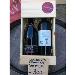 Trækasse m/ 2 vine Premium-20
