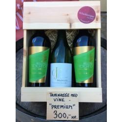Trækasse m/ 3 fl. div. vine Premium Køb-20