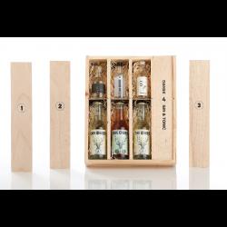 Trækasse m/ danske gin and tonic FANTASTISK GAVEIDÈ-20