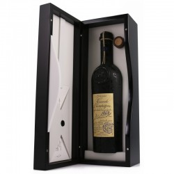 Lheraud Cognac Petite Champagne 1969 I gl. flaske m/certifikat og org. kasse-20