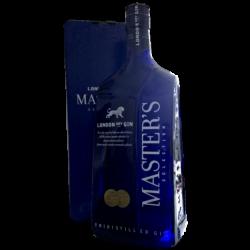 3 liters Masters London Dry Gin i Flot Gavekrt.-20