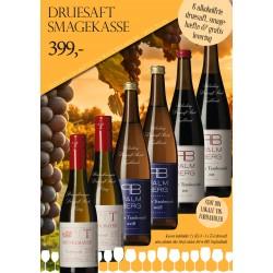 """""""Alkoholfri smagekasse"""" M/ 6 vine + smagehæfte GRATIS LEVERING-20"""