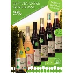 """""""Vegansk smagekasse"""" M/ 6 vine + smagehæfte GRATIS LEVERING-20"""