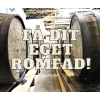 FADANDEL 50 liter ex. Skotlander fad med rom som er destilleret på Jamaica og Trinidad-02