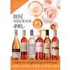 """""""Rosévins-smagekasse"""" M/ 6 vine, smagehæfte og overraskelse GRATIS LEVERING-01"""