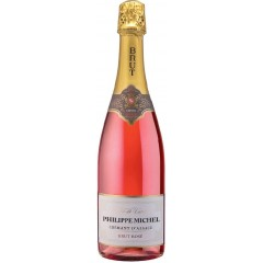 """Arthur Metz, """"Philippe Michel"""" Brut rosé, Cremant d'Alsace AOC"""