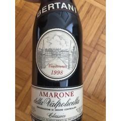 BERTANI - AMARONE CLASSICO - 1998 - I ORIGINAL TRÆKASSE