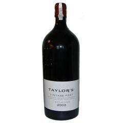 Taylor's vintage Port 2003 - 6 liters flaske og i original trækasse