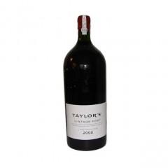 Taylor's vintage Port 2000 - 6 liters flaske og i original trækasse