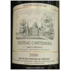 Ch. Cantemerle, Cinquième Cru Classé, Haut-Médoc, 2000