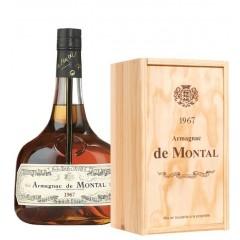 Armagnac de Montal 1967 - I flot trækasse med årgang og navn