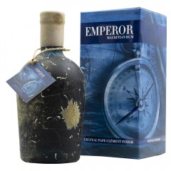 """EMPEROR """"DEEP BLUE"""" - CHÂTEAU PAPE CLÉMENT WINE FINISH RUM"""